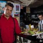Servering på Paladar de Cuba